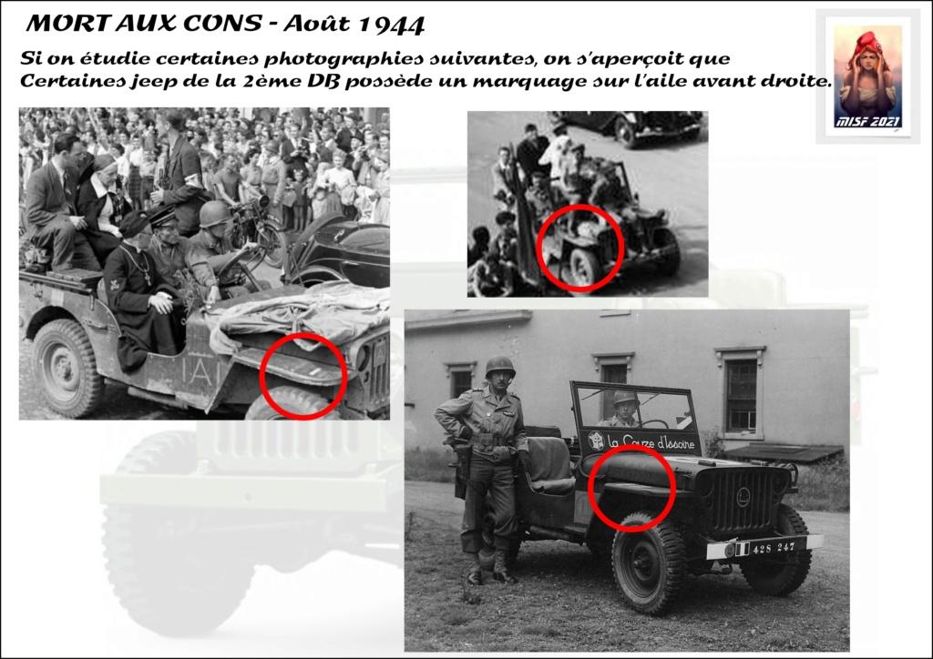 JEEP - 2EME DB - CAPITAINE DRONNE - MORT AUX CONS - ITALERI 1/35 Jeep_d17