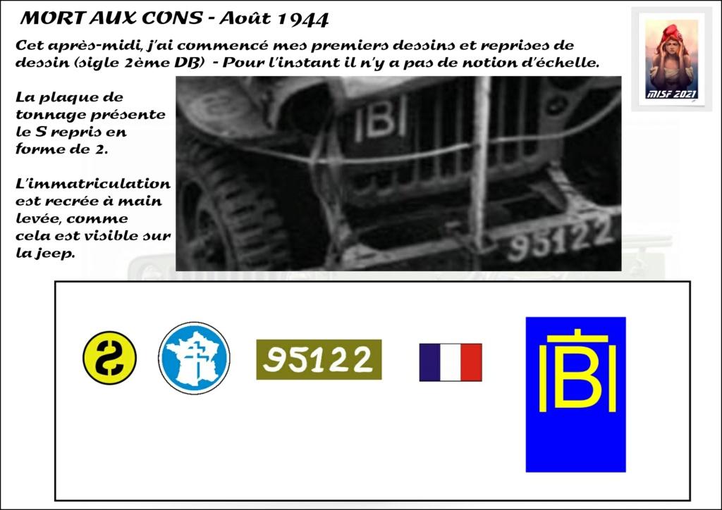 JEEP - 2EME DB - CAPITAINE DRONNE - MORT AUX CONS - ITALERI 1/35 - Page 2 Jeep_d19