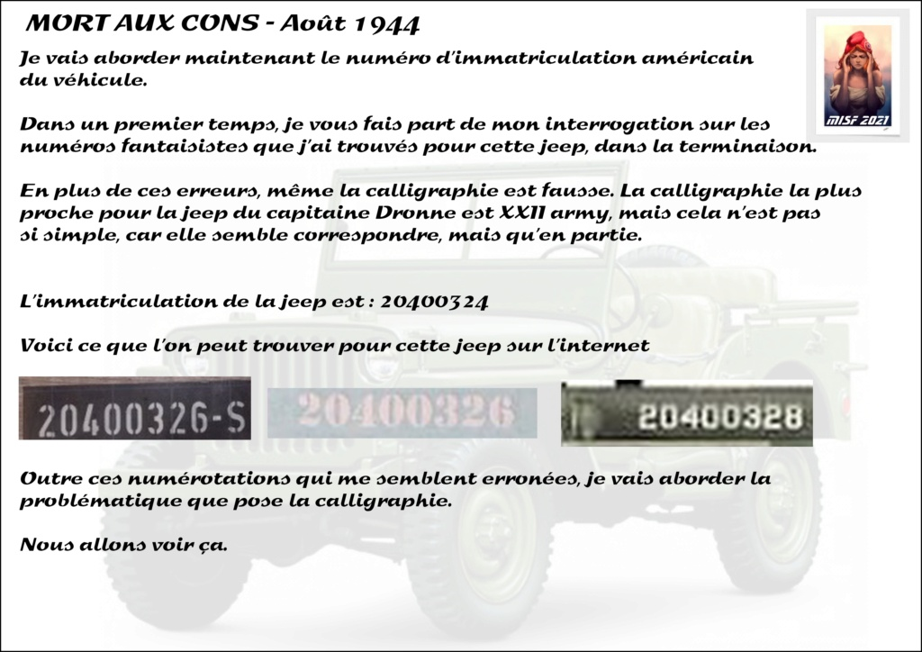 JEEP - 2EME DB - CAPITAINE DRONNE - MORT AUX CONS - ITALERI 1/35 - Page 2 Jeep_d23