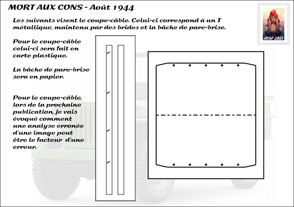 JEEP - 2EME DB - CAPITAINE DRONNE - MORT AUX CONS - ITALERI 1/35 - Page 3 Jeep_d44