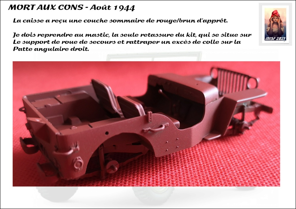JEEP - 2EME DB - CAPITAINE DRONNE - MORT AUX CONS - ITALERI 1/35 - Page 3 Jeep_d46