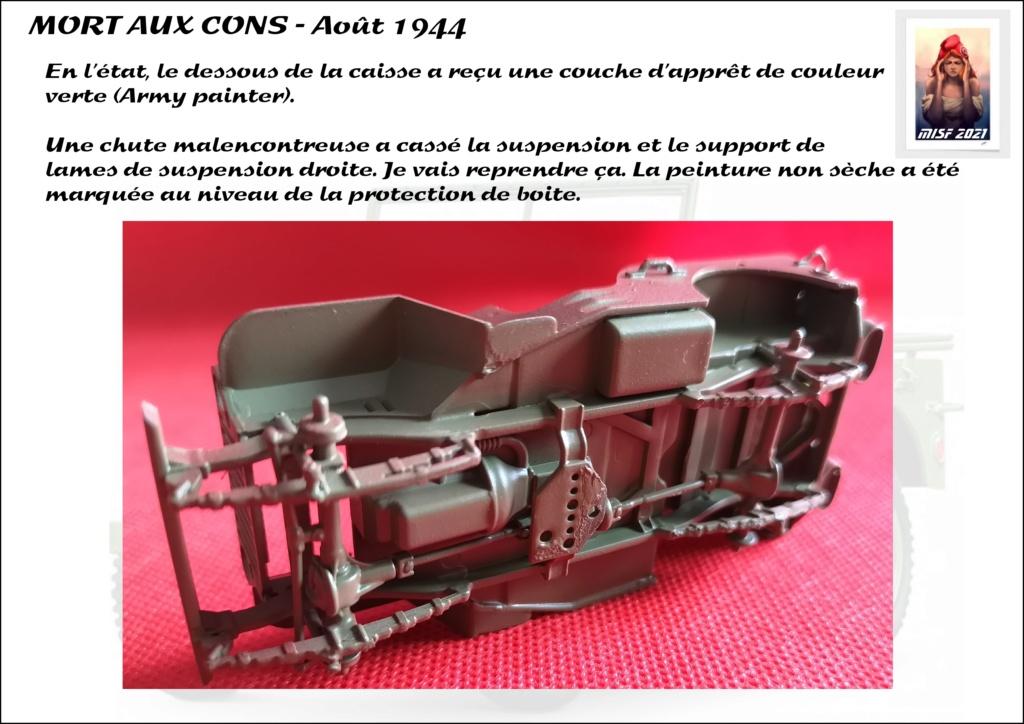 JEEP - 2EME DB - CAPITAINE DRONNE - MORT AUX CONS - ITALERI 1/35 - Page 3 Jeep_d47