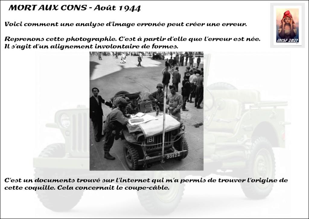JEEP - 2EME DB - CAPITAINE DRONNE - MORT AUX CONS - ITALERI 1/35 - Page 3 Jeep_d48