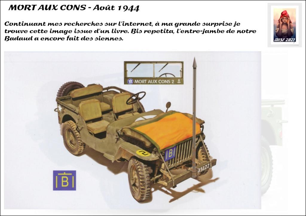 JEEP - 2EME DB - CAPITAINE DRONNE - MORT AUX CONS - ITALERI 1/35 - Page 3 Jeep_d51