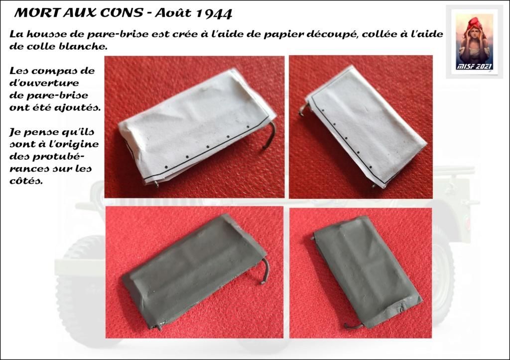 JEEP - 2EME DB - CAPITAINE DRONNE - MORT AUX CONS - ITALERI 1/35 - Page 4 Jeep_d56