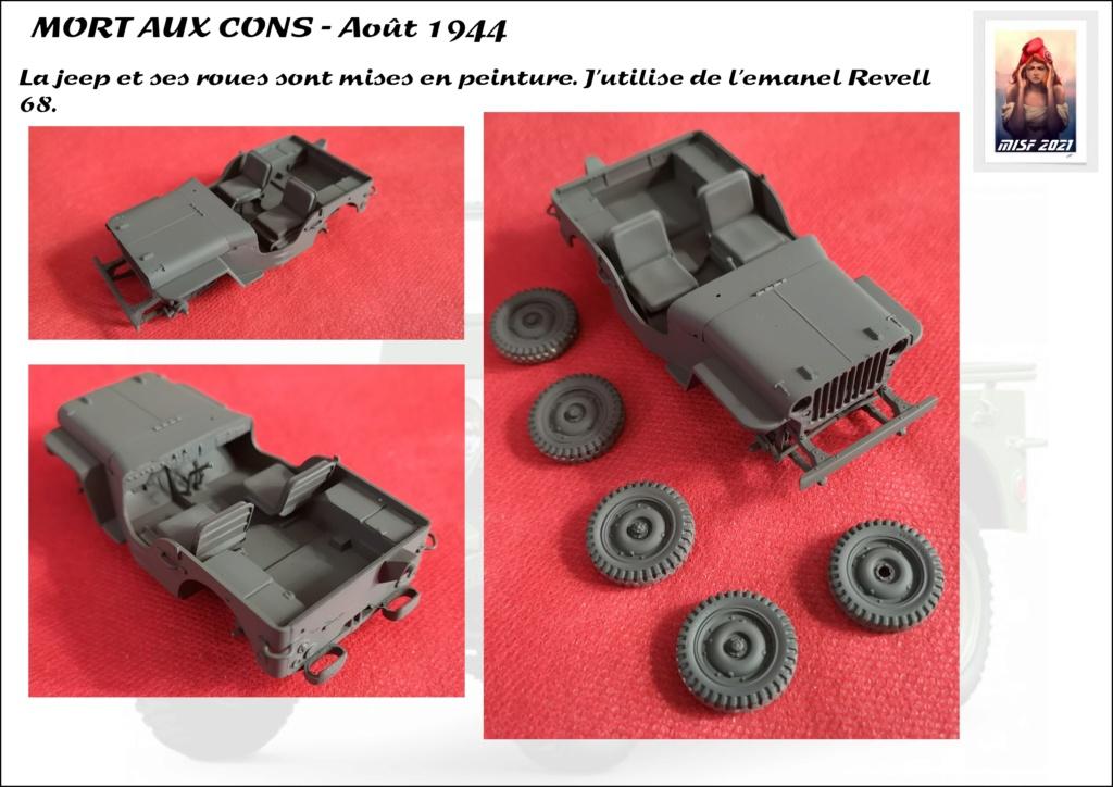 JEEP - 2EME DB - CAPITAINE DRONNE - MORT AUX CONS - ITALERI 1/35 - Page 4 Jeep_d57