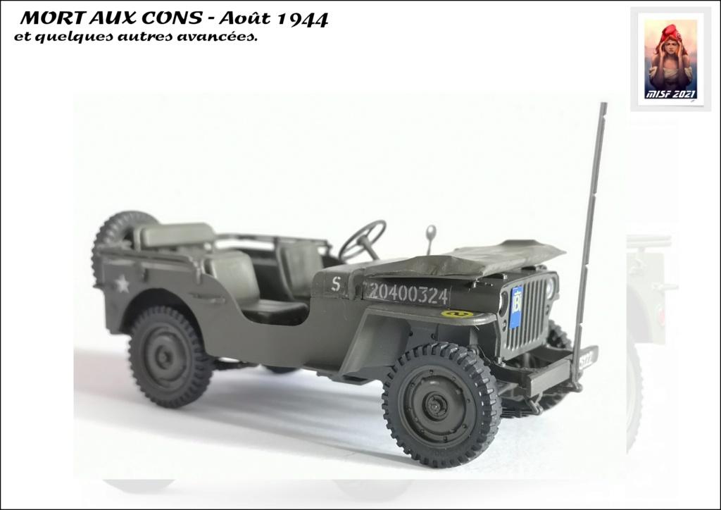 JEEP - 2EME DB - CAPITAINE DRONNE - MORT AUX CONS - ITALERI 1/35 - Page 5 Jeep_d64
