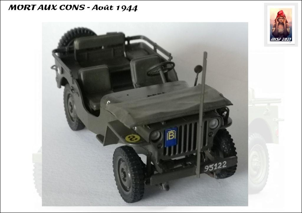 JEEP - 2EME DB - CAPITAINE DRONNE - MORT AUX CONS - ITALERI 1/35 - Page 5 Jeep_d65