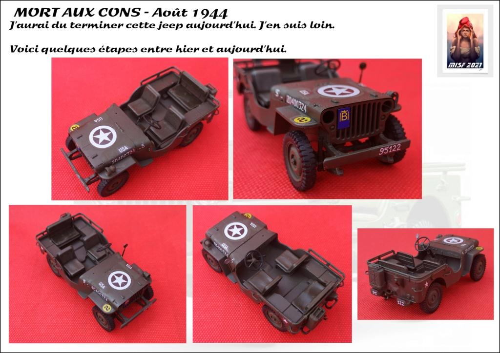 JEEP - 2EME DB - CAPITAINE DRONNE - MORT AUX CONS - ITALERI 1/35 - Page 5 Jeep_d66