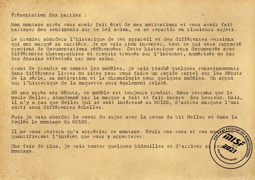 MB 152 C1 - HELLER 1/72 - MONTAGE PAS A  PAS Les_ma17