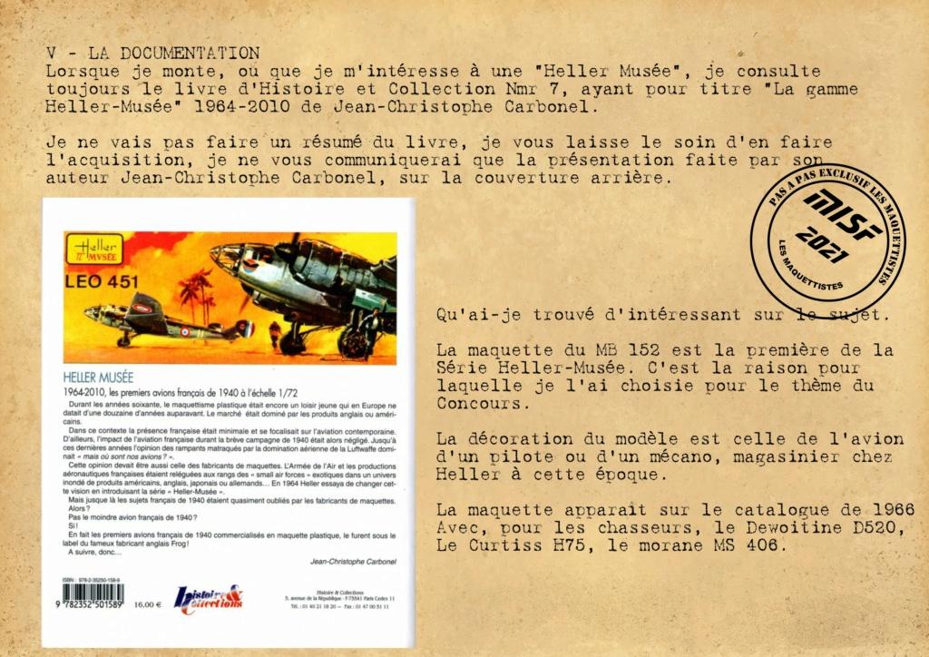MB 152 C1 - HELLER 1/72 - MONTAGE PAS A  PAS - Page 2 Les_ma37