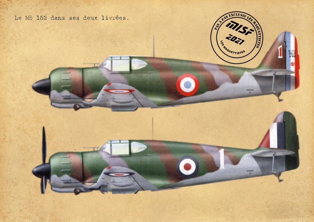 MB 152 C1 - HELLER 1/72 - MONTAGE PAS A  PAS - Page 2 Les_ma43