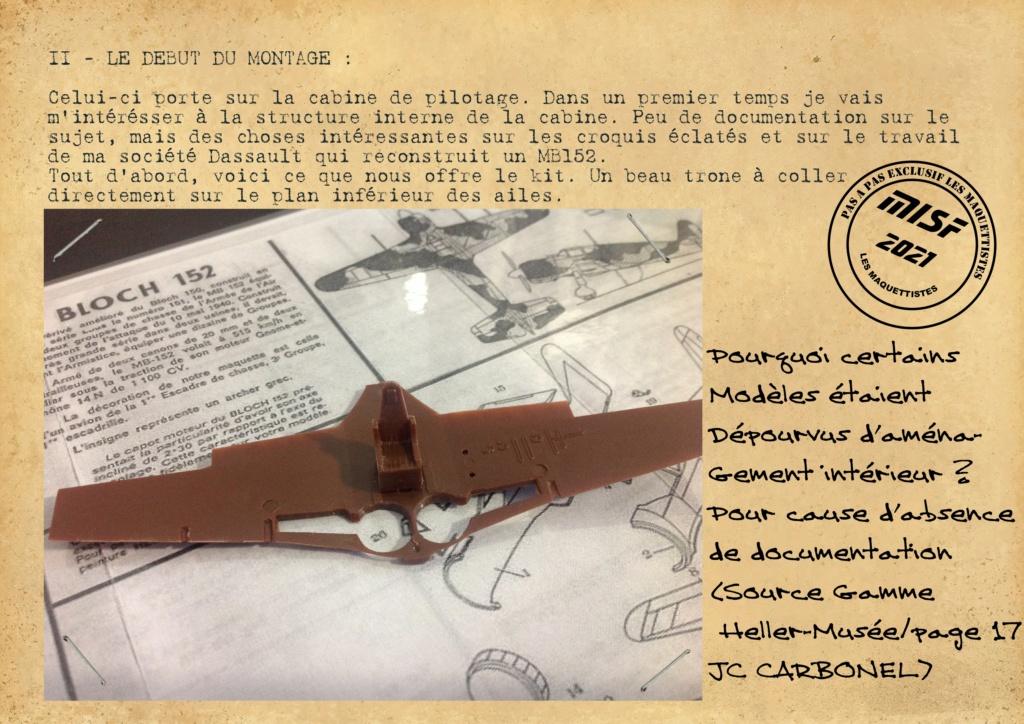 MB 152 C1 - HELLER 1/72 - MONTAGE PAS A  PAS - Page 2 Les_ma53