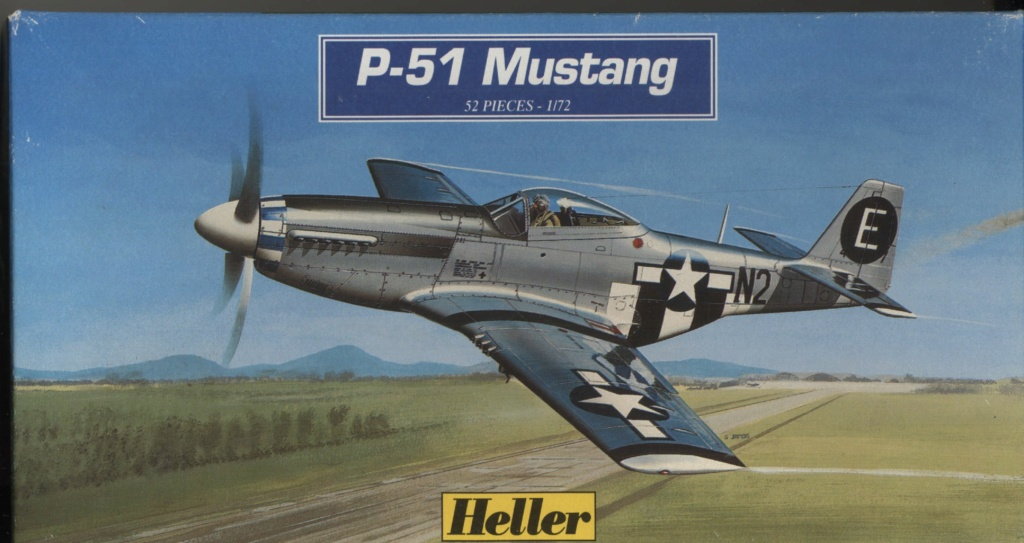 From the box  - P51 D Heller 1/72ème Maque182