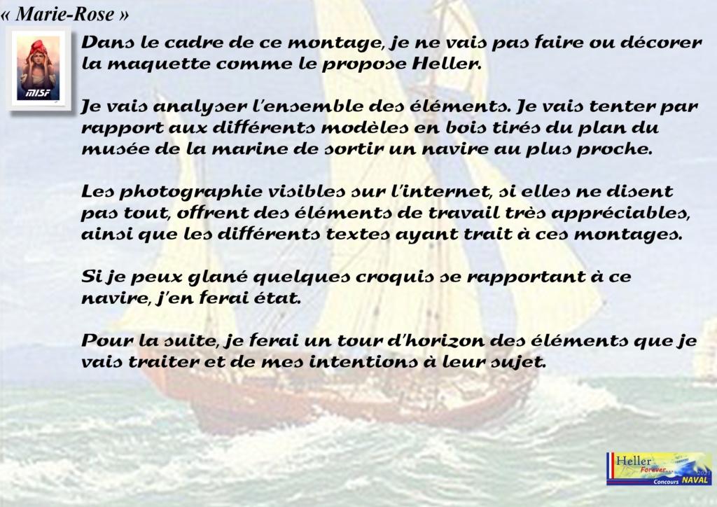 Tartane armée MARIE-ROSE  (CORSAIR) 1/150ème  Réf 80616 - Page 2 Mar_0025