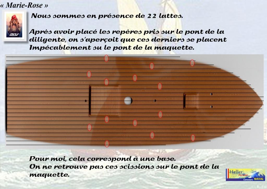 Tartane armée MARIE-ROSE  (CORSAIR) 1/150ème  Réf 80616 - Page 2 Mar_0031