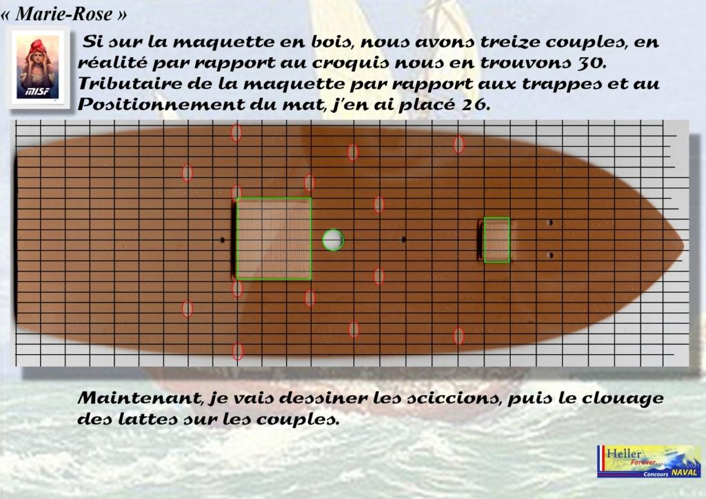 Tartane armée MARIE-ROSE  (CORSAIR) 1/150ème  Réf 80616 - Page 2 Mar_0032