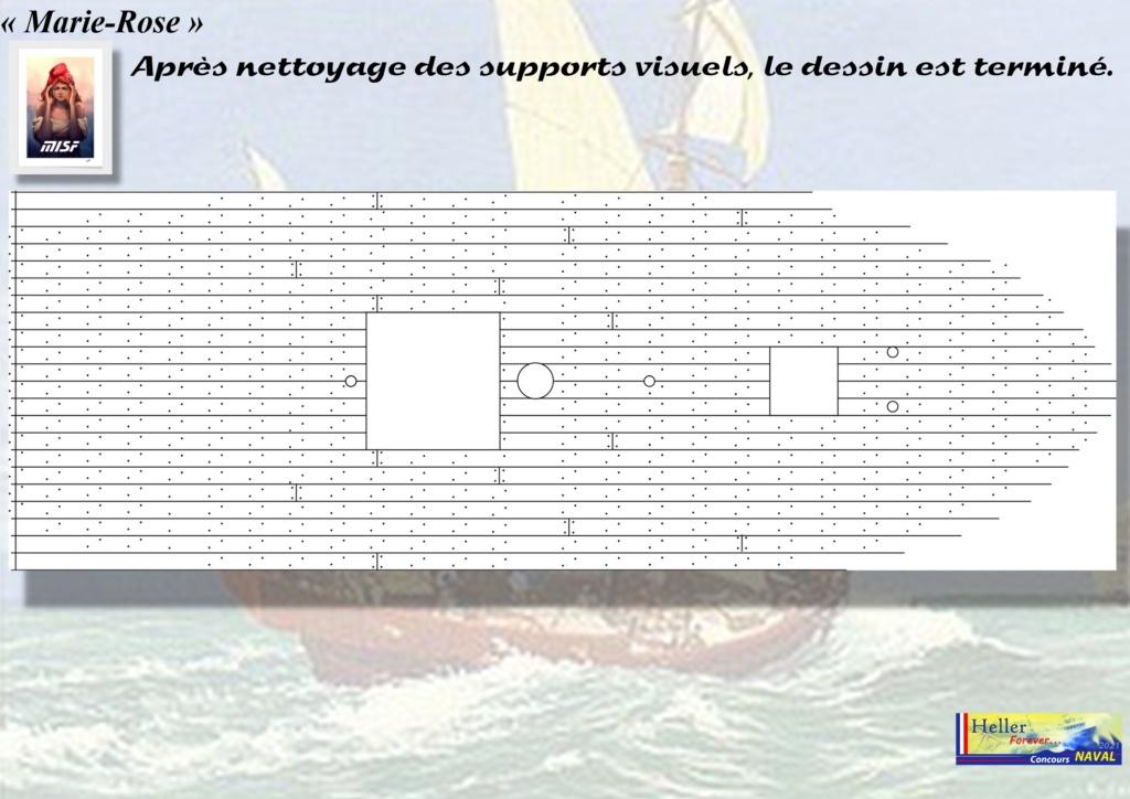 Tartane armée MARIE-ROSE  (CORSAIR) 1/150ème  Réf 80616 - Page 2 Mar_0033