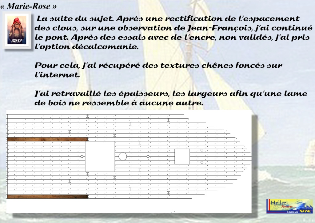 Tartane armée MARIE-ROSE  (CORSAIR) 1/150ème  Réf 80616 - Page 2 Mar_0037