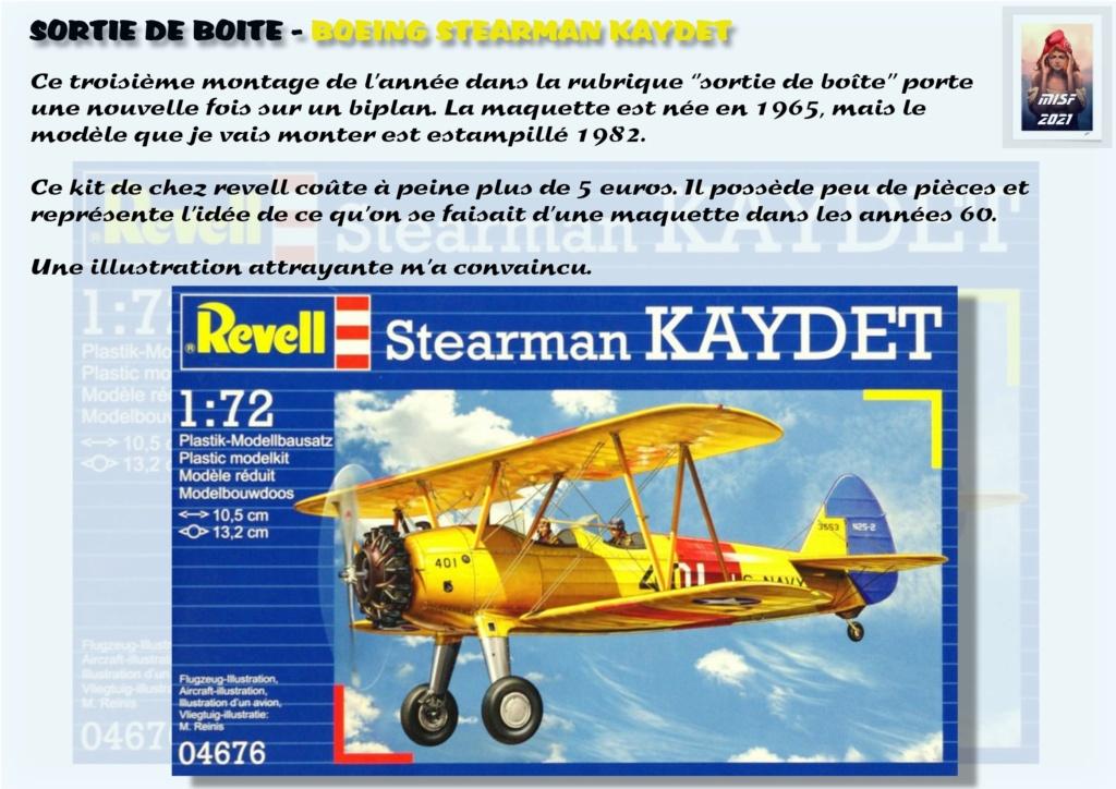 From the box - BOEING STEARMAN KAYDET PT17 - REVELL 1/72 - REF 04676 *** Terminé en pg 3 Pt17_013