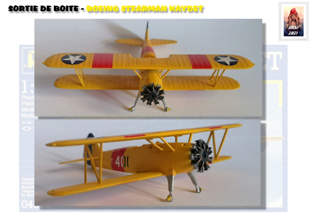 From the box - BOEING STEARMAN KAYDET PT17 - REVELL 1/72 - REF 04676 *** Terminé en pg 3 - Page 2 Pt17_022