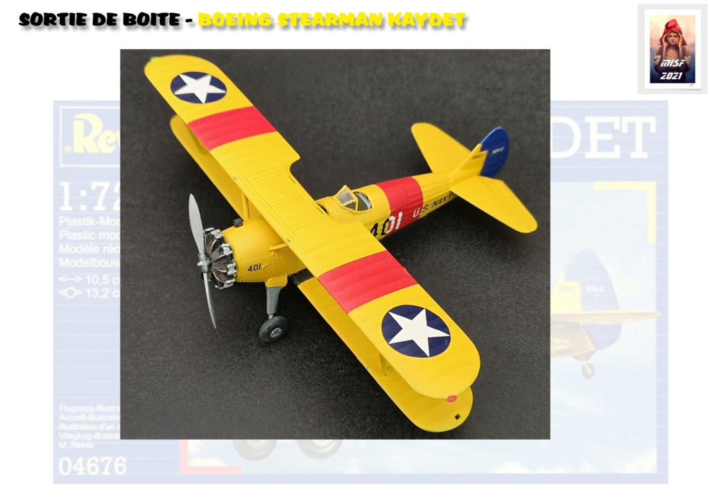 From the box - BOEING STEARMAN KAYDET PT17 - REVELL 1/72 - REF 04676 *** Terminé en pg 3 - Page 3 Pt17_024