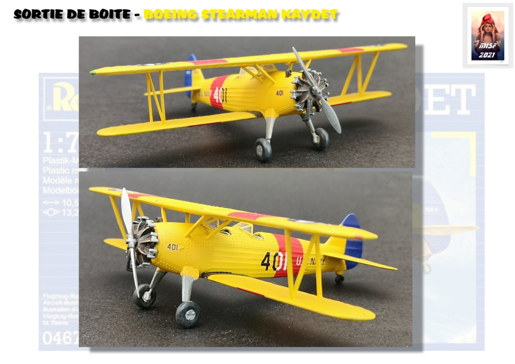From the box - BOEING STEARMAN KAYDET PT17 - REVELL 1/72 - REF 04676 *** Terminé en pg 3 - Page 3 Pt17_025