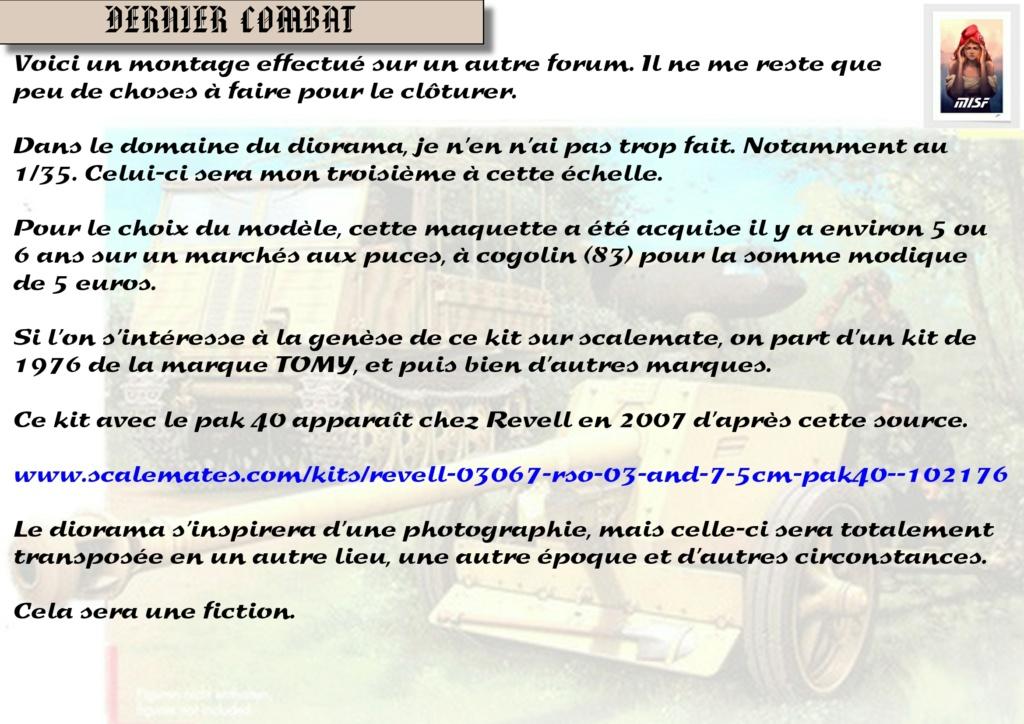 """DERNIER COMBAT"" RSO et PAK 40 - REVELL - 1/35 Rso_0237"