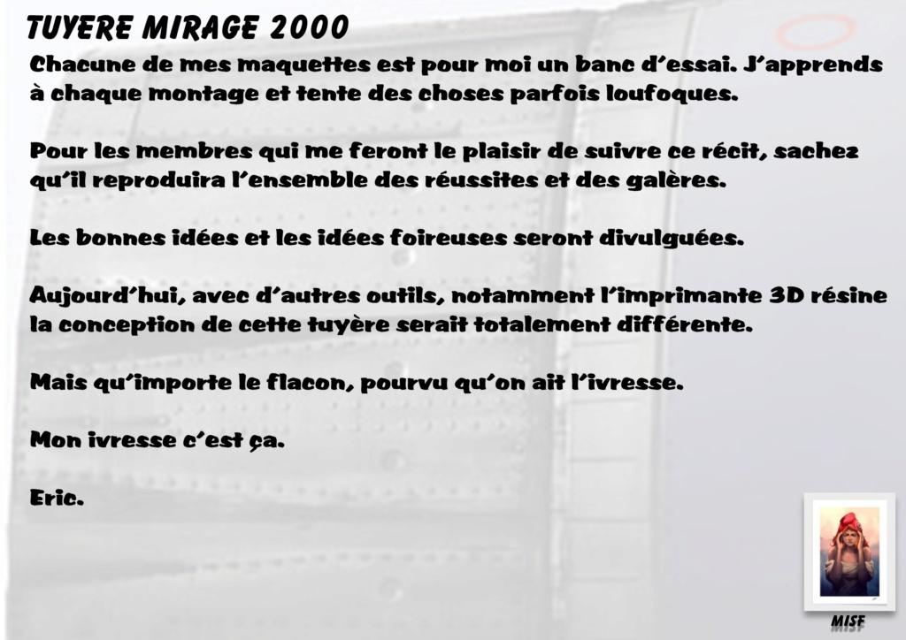 Tuyère Dassault Mirage 2000 - Scratch - Pour base Heller  Tuyere12