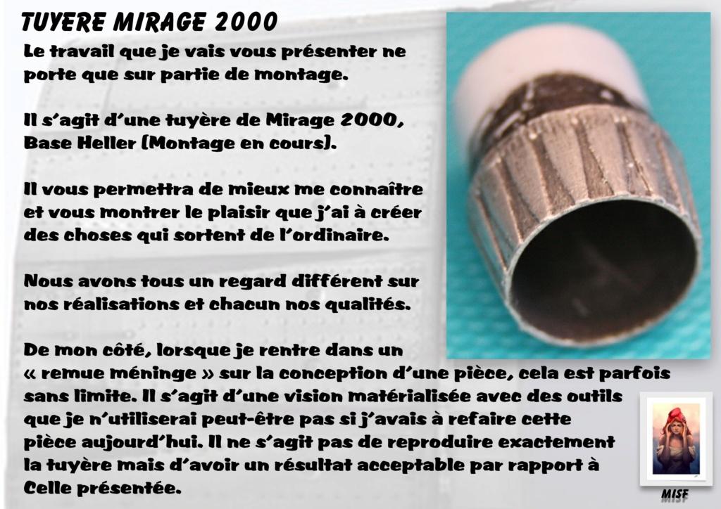 Tuyère Dassault Mirage 2000 - Scratch - Pour base Heller  Tuyere13