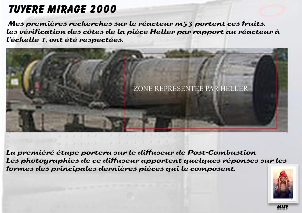 Tuyère Dassault Mirage 2000 - Scratch - Pour base Heller  Tuyere14