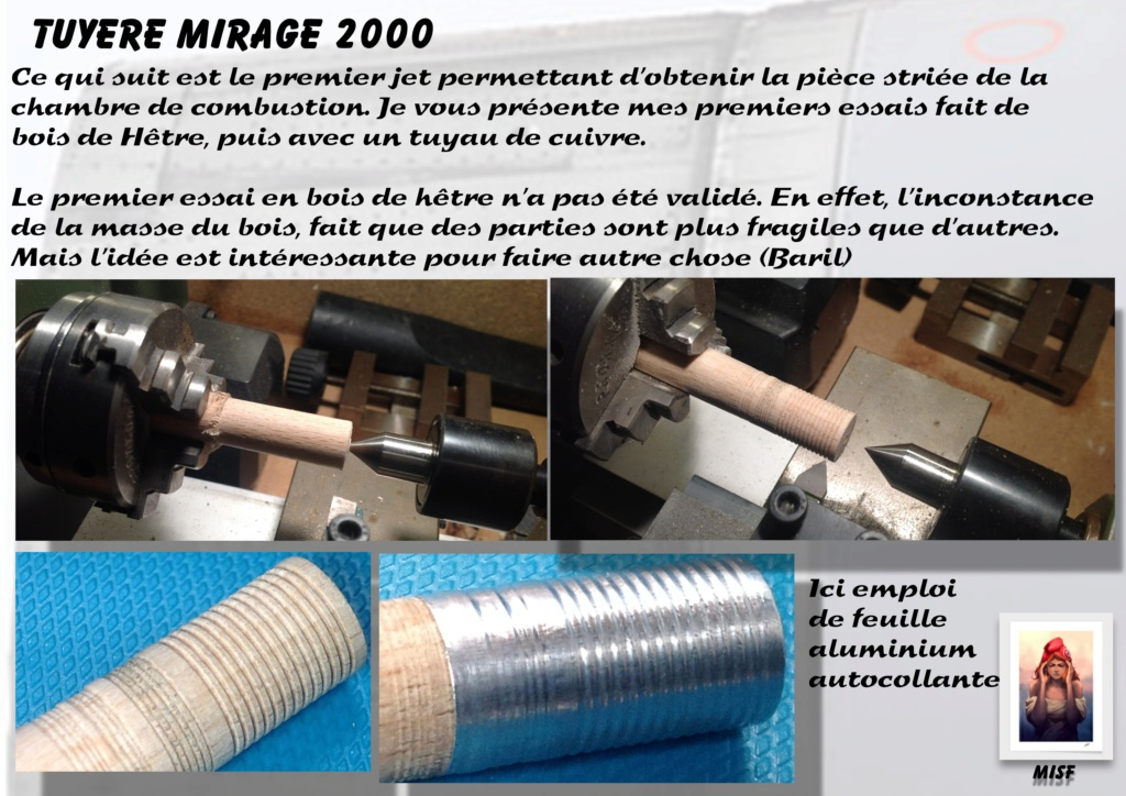 Tuyère Dassault Mirage 2000 - Scratch - Pour base Heller  Tuyere21