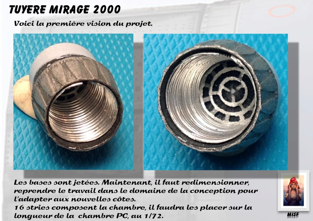 Tuyère Dassault Mirage 2000 - Scratch - Pour base Heller  Tuyere22