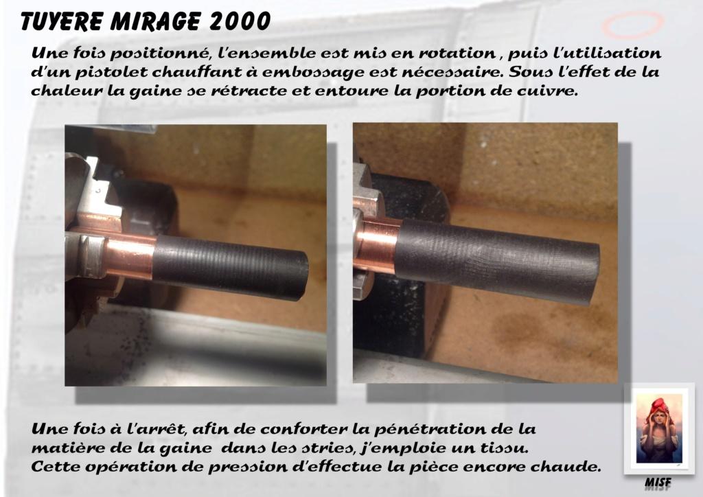 Tuyère Dassault Mirage 2000 - Scratch - Pour base Heller  Tuyere23
