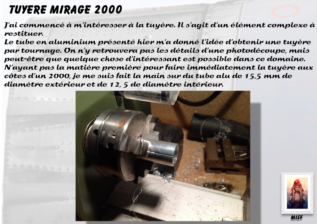 Tuyère Dassault Mirage 2000 - Scratch - Pour base Heller  Tuyere28