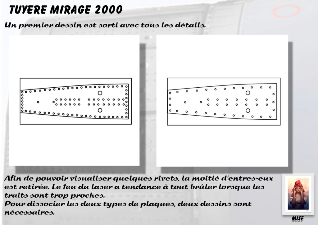 Tuyère Dassault Mirage 2000 - Scratch - Pour base Heller  Tuyere30