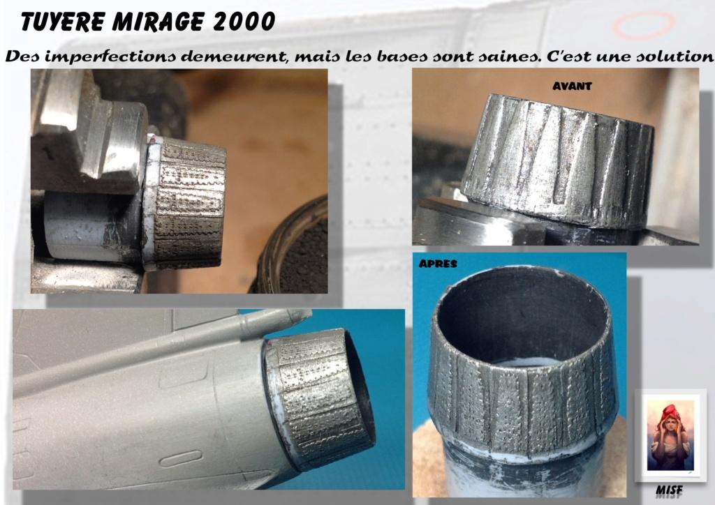 Tuyère Dassault Mirage 2000 - Scratch - Pour base Heller  Tuyere36