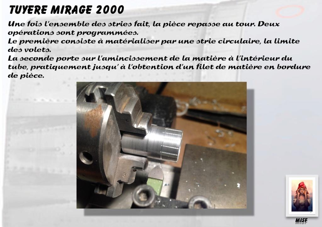 Tuyère Dassault Mirage 2000 - Scratch - Pour base Heller  Tuyere37
