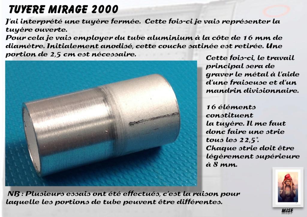 Tuyère Dassault Mirage 2000 - Scratch - Pour base Heller  Tuyere38