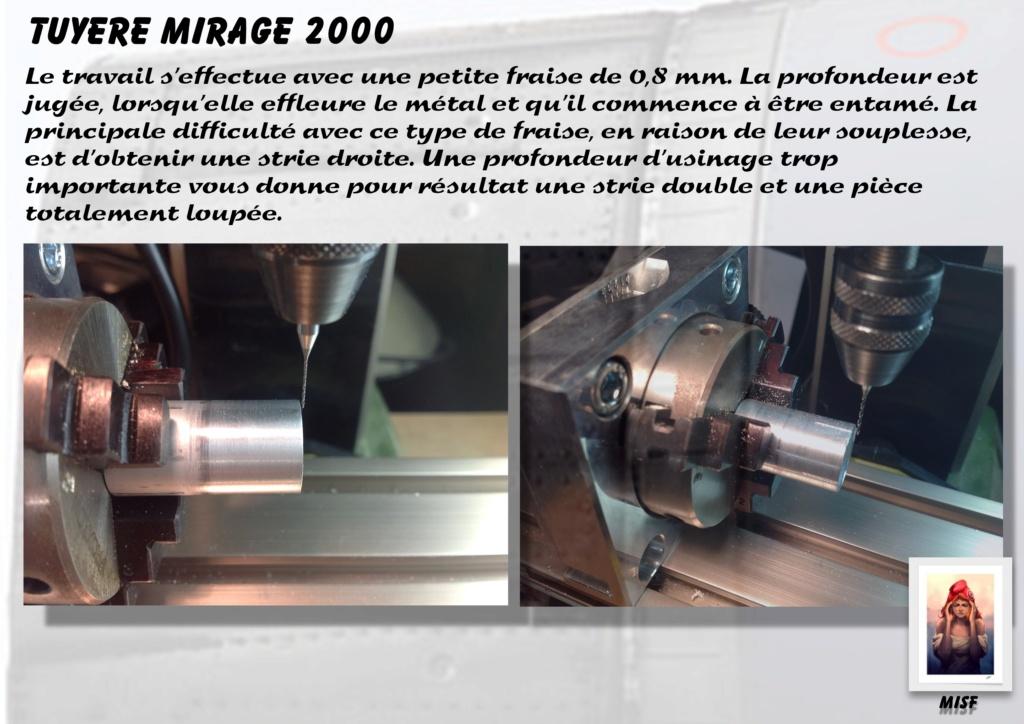 Tuyère Dassault Mirage 2000 - Scratch - Pour base Heller  Tuyere39