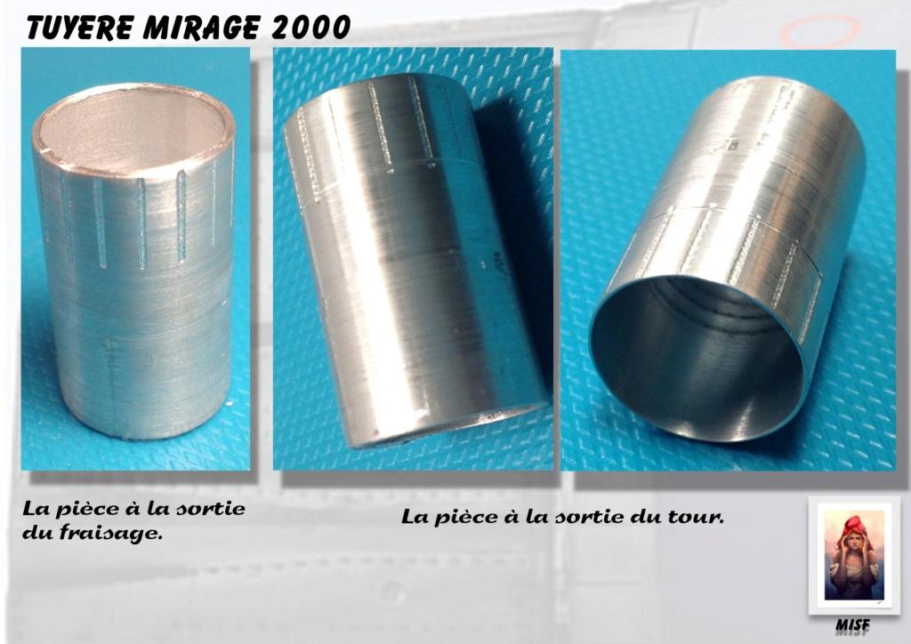 Tuyère Dassault Mirage 2000 - Scratch - Pour base Heller  Tuyere41