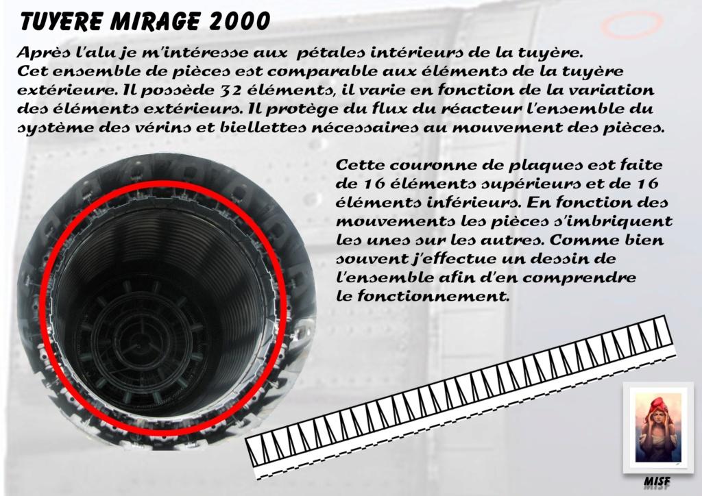 Tuyère Dassault Mirage 2000 - Scratch - Pour base Heller  Tuyere42