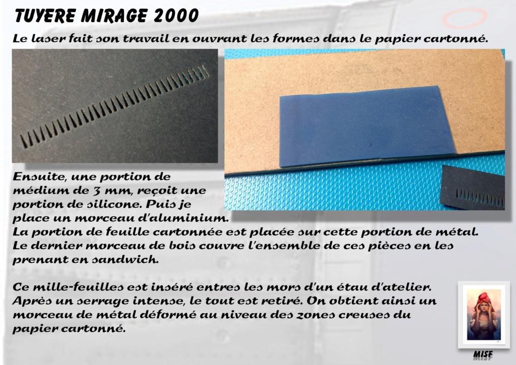 Tuyère Dassault Mirage 2000 - Scratch - Pour base Heller  Tuyere43