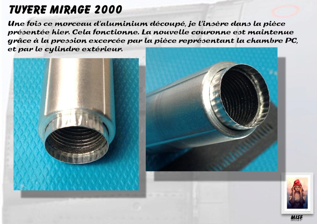 Tuyère Dassault Mirage 2000 - Scratch - Pour base Heller  Tuyere46