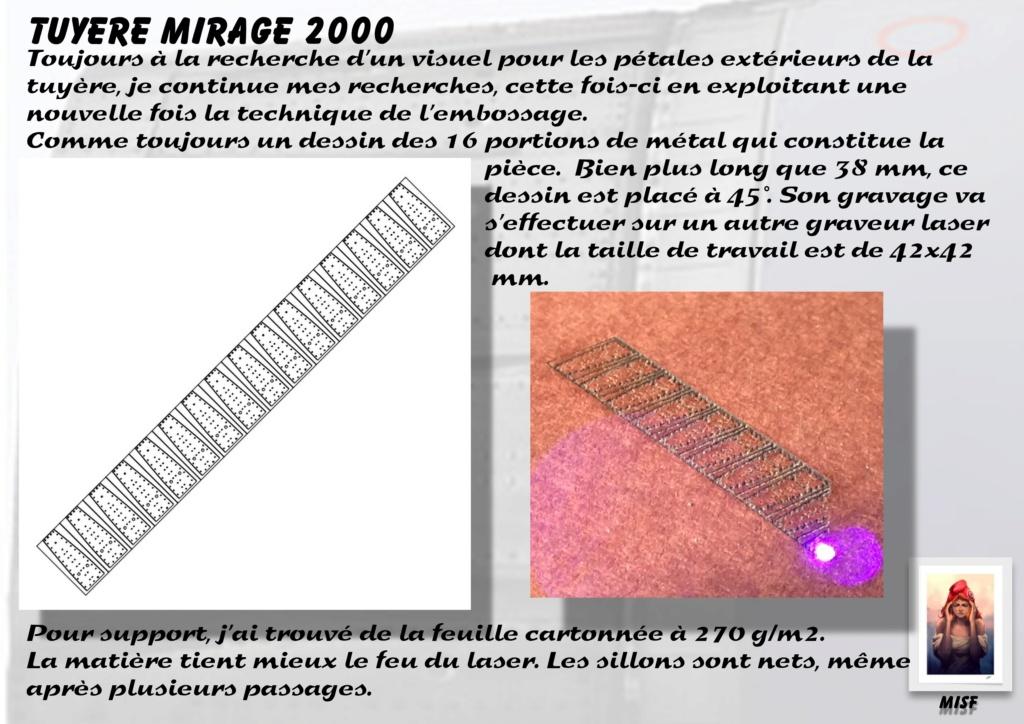 Tuyère Dassault Mirage 2000 - Scratch - Pour base Heller  Tuyere48