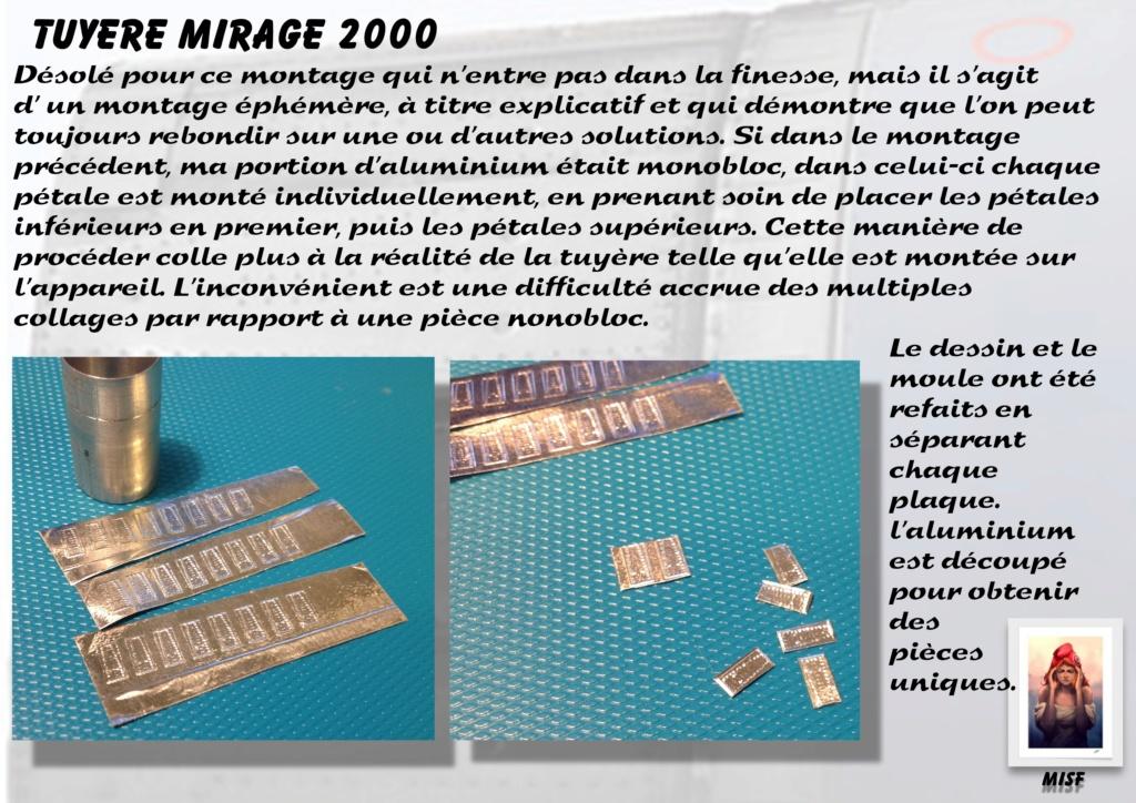 Tuyère Dassault Mirage 2000 - Scratch - Pour base Heller  Tuyere52
