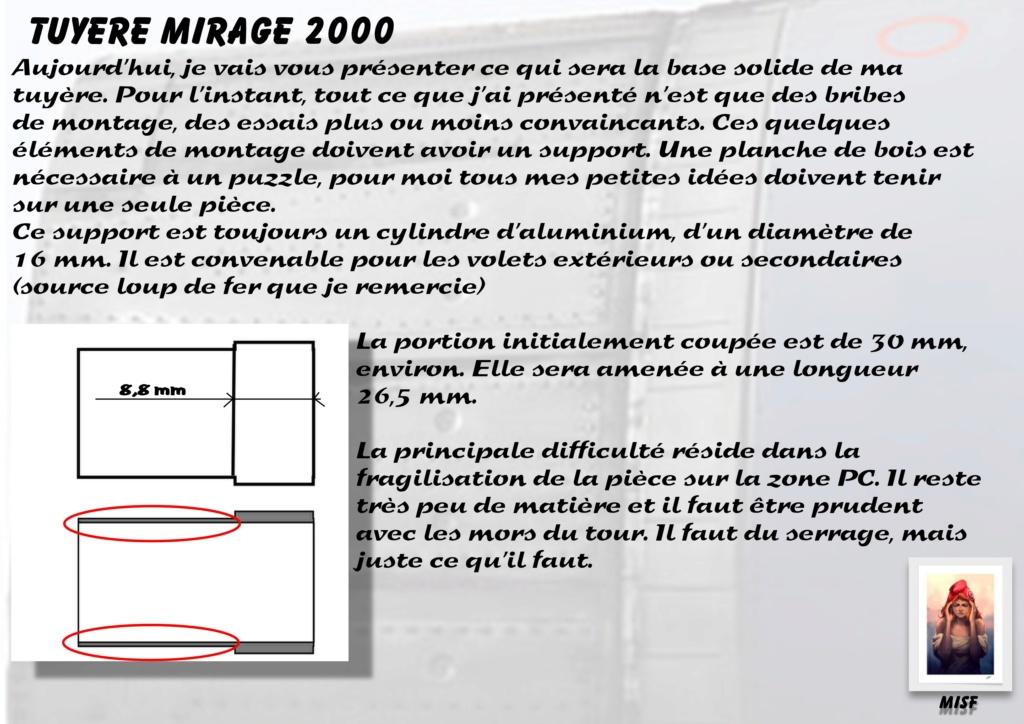 Tuyère Dassault Mirage 2000 - Scratch - Pour base Heller  Tuyere53