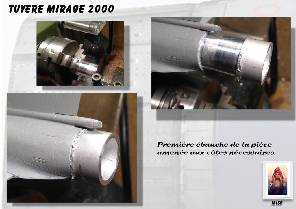 Tuyère Dassault Mirage 2000 - Scratch - Pour base Heller  Tuyere55