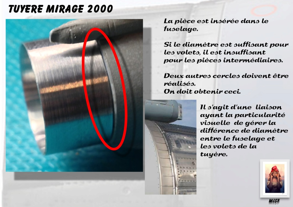 Tuyère Dassault Mirage 2000 - Scratch - Pour base Heller  Tuyere56