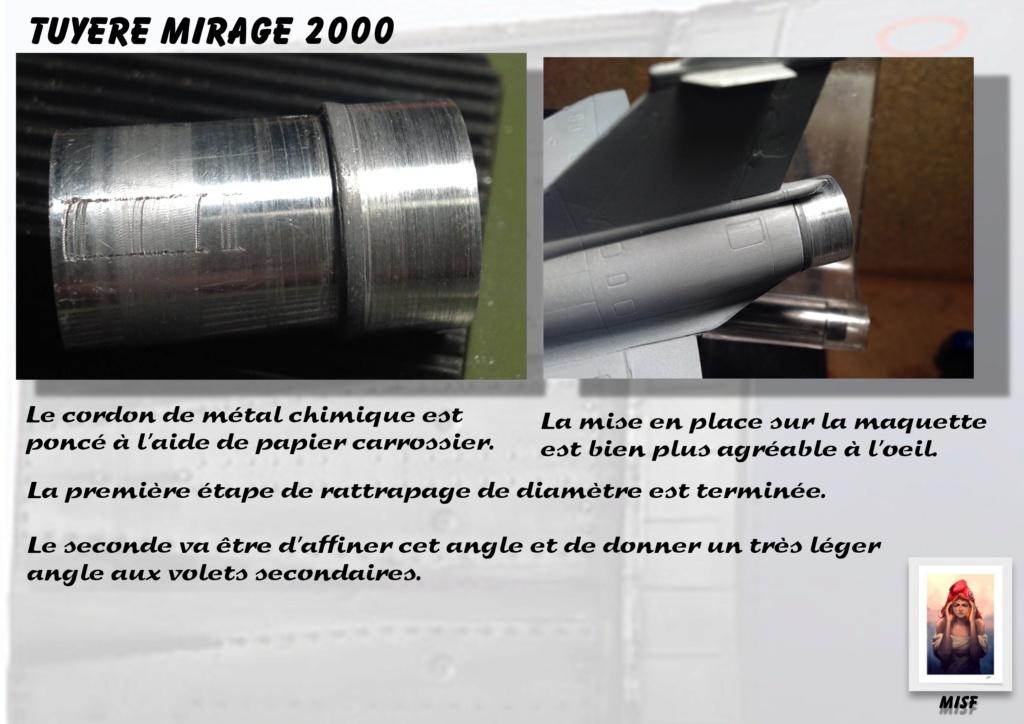 Tuyère Dassault Mirage 2000 - Scratch - Pour base Heller  Tuyere57